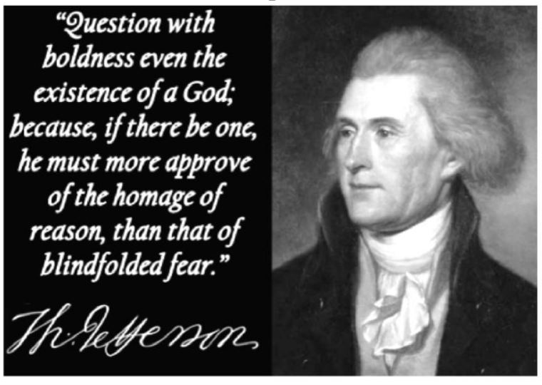 T.Jefferson God denial